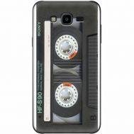 Силиконовый чехол BoxFace Samsung J700H Galaxy J7 Старая касета (24496-up2445)