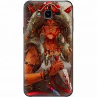 Силиконовый чехол BoxFace Samsung J700H Galaxy J7 Принцесса Мононоке (24496-up2451)