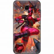 Силиконовый чехол BoxFace Samsung J700H Galaxy J7 Woman Deadpool (24496-up2453)