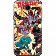 Силиконовый чехол BoxFace Samsung J700H Galaxy J7 Deadpool and Mary Jane (24496-up2454)