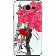 Силиконовый чехол BoxFace Samsung J700H Galaxy J7 Love in Paris (24496-up2460)