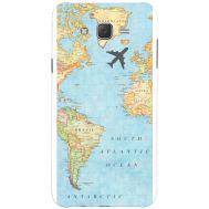 Силиконовый чехол BoxFace Samsung J500H Galaxy J5 Карта (25242-up2434)