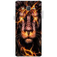 Силиконовый чехол BoxFace Samsung J500H Galaxy J5 Fire Lion (25242-up2437)