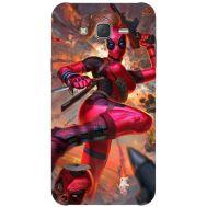 Силиконовый чехол BoxFace Samsung J500H Galaxy J5 Woman Deadpool (25242-up2453)