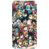 Силиконовый чехол BoxFace Samsung J500H Galaxy J5 Anime Stickers (25242-up2458)