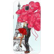 Силиконовый чехол BoxFace Samsung J500H Galaxy J5 Love in Paris (25242-up2460)