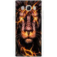 Силиконовый чехол BoxFace Samsung J710 Galaxy J7 2016 Fire Lion (25138-up2437)