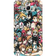 Силиконовый чехол BoxFace Samsung J710 Galaxy J7 2016 Anime Stickers (25138-up2458)