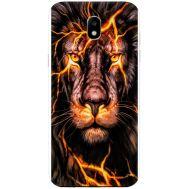 Силиконовый чехол BoxFace Samsung J730 Galaxy J7 2017 Fire Lion (30576-up2437)