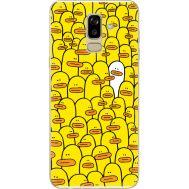 Силиконовый чехол BoxFace Samsung J810 Galaxy J8 2018 Yellow Ducklings (34856-up2428)