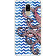 Силиконовый чехол BoxFace Samsung J810 Galaxy J8 2018 Sea Tentacles (34856-up2430)