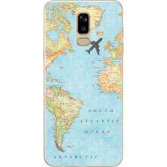 Силиконовый чехол BoxFace Samsung J810 Galaxy J8 2018 Карта (34856-up2434)