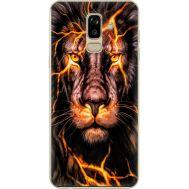 Силиконовый чехол BoxFace Samsung J810 Galaxy J8 2018 Fire Lion (34856-up2437)