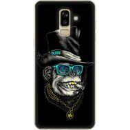 Силиконовый чехол BoxFace Samsung J810 Galaxy J8 2018 Rich Monkey (34856-up2438)