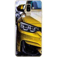 Силиконовый чехол BoxFace Samsung J810 Galaxy J8 2018 Bmw M3 on Road (34856-up2439)