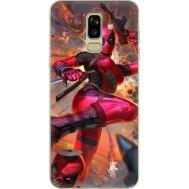 Силиконовый чехол BoxFace Samsung J810 Galaxy J8 2018 Woman Deadpool (34856-up2453)