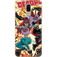 Силиконовый чехол BoxFace Samsung J810 Galaxy J8 2018 Deadpool and Mary Jane (34856-up2454)