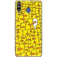 Силиконовый чехол BoxFace Samsung M305 Galaxy M30 Yellow Ducklings (36973-up2428)