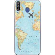 Силиконовый чехол BoxFace Samsung M305 Galaxy M30 Карта (36973-up2434)