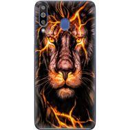 Силиконовый чехол BoxFace Samsung M305 Galaxy M30 Fire Lion (36973-up2437)