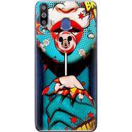Силиконовый чехол BoxFace Samsung M305 Galaxy M30 Girl Pop Art (36973-up2444)