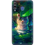 Силиконовый чехол BoxFace Samsung M305 Galaxy M30 White Tiger Cub (36973-up2452)