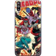 Силиконовый чехол BoxFace Samsung M305 Galaxy M30 Deadpool and Mary Jane (36973-up2454)