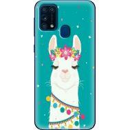 Силиконовый чехол BoxFace Samsung M315 Galaxy M31 Cold Llama (39091-up2435)