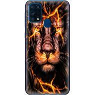 Силиконовый чехол BoxFace Samsung M315 Galaxy M31 Fire Lion (39091-up2437)