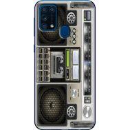 Силиконовый чехол BoxFace Samsung M315 Galaxy M31 Old Boombox (39091-up2446)