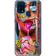 Силиконовый чехол BoxFace Samsung M315 Galaxy M31 Colorful Girl (39091-up2443)