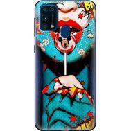Силиконовый чехол BoxFace Samsung M315 Galaxy M31 Girl Pop Art (39091-up2444)