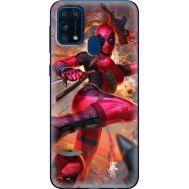 Силиконовый чехол BoxFace Samsung M315 Galaxy M31 Woman Deadpool (39091-up2453)