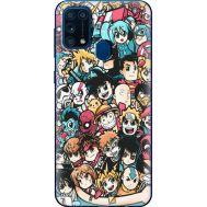 Силиконовый чехол BoxFace Samsung M315 Galaxy M31 Anime Stickers (39091-up2458)