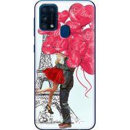 Силиконовый чехол BoxFace Samsung M315 Galaxy M31 Love in Paris (39091-up2460)