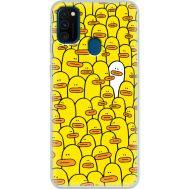 Силиконовый чехол BoxFace Samsung M215 Galaxy M21 Yellow Ducklings (39465-up2428)