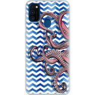 Силиконовый чехол BoxFace Samsung M215 Galaxy M21 Sea Tentacles (39465-up2430)
