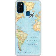 Силиконовый чехол BoxFace Samsung M215 Galaxy M21 Карта (39465-up2434)