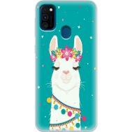 Силиконовый чехол BoxFace Samsung M215 Galaxy M21 Cold Llama (39465-up2435)