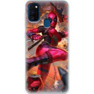 Силиконовый чехол BoxFace Samsung M215 Galaxy M21 Woman Deadpool (39465-up2453)