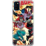 Силиконовый чехол BoxFace Samsung M215 Galaxy M21 Deadpool and Mary Jane (39465-up2454)