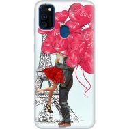 Силиконовый чехол BoxFace Samsung M215 Galaxy M21 Love in Paris (39465-up2460)