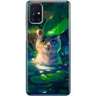 Силиконовый чехол BoxFace Samsung M317 Galaxy M31s White Tiger Cub (40942-up2452)