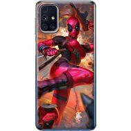 Силиконовый чехол BoxFace Samsung M317 Galaxy M31s Woman Deadpool (40942-up2453)