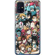 Силиконовый чехол BoxFace Samsung M317 Galaxy M31s Anime Stickers (40942-up2458)
