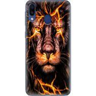 Силиконовый чехол BoxFace Samsung M205 Galaxy M20 Fire Lion (36205-up2437)