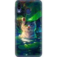 Силиконовый чехол BoxFace Samsung M205 Galaxy M20 White Tiger Cub (36205-up2452)