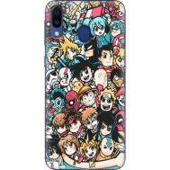 Силиконовый чехол BoxFace Samsung M205 Galaxy M20 Anime Stickers (36205-up2458)
