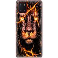 Силиконовый чехол BoxFace Samsung N770 Galaxy Note 10 Lite Fire Lion (38845-up2437)