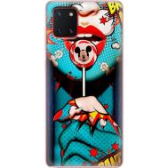Силиконовый чехол BoxFace Samsung N770 Galaxy Note 10 Lite Girl Pop Art (38845-up2444)